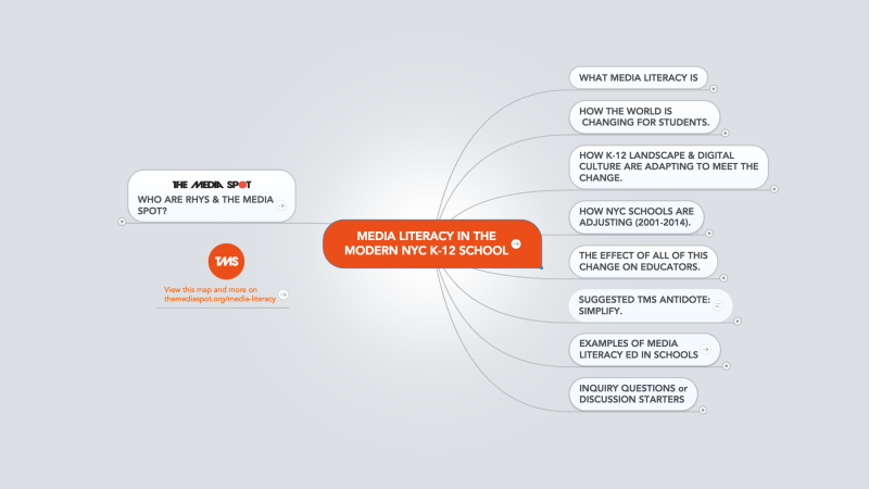 Interactive Map: Media Literacy in the K-12 School