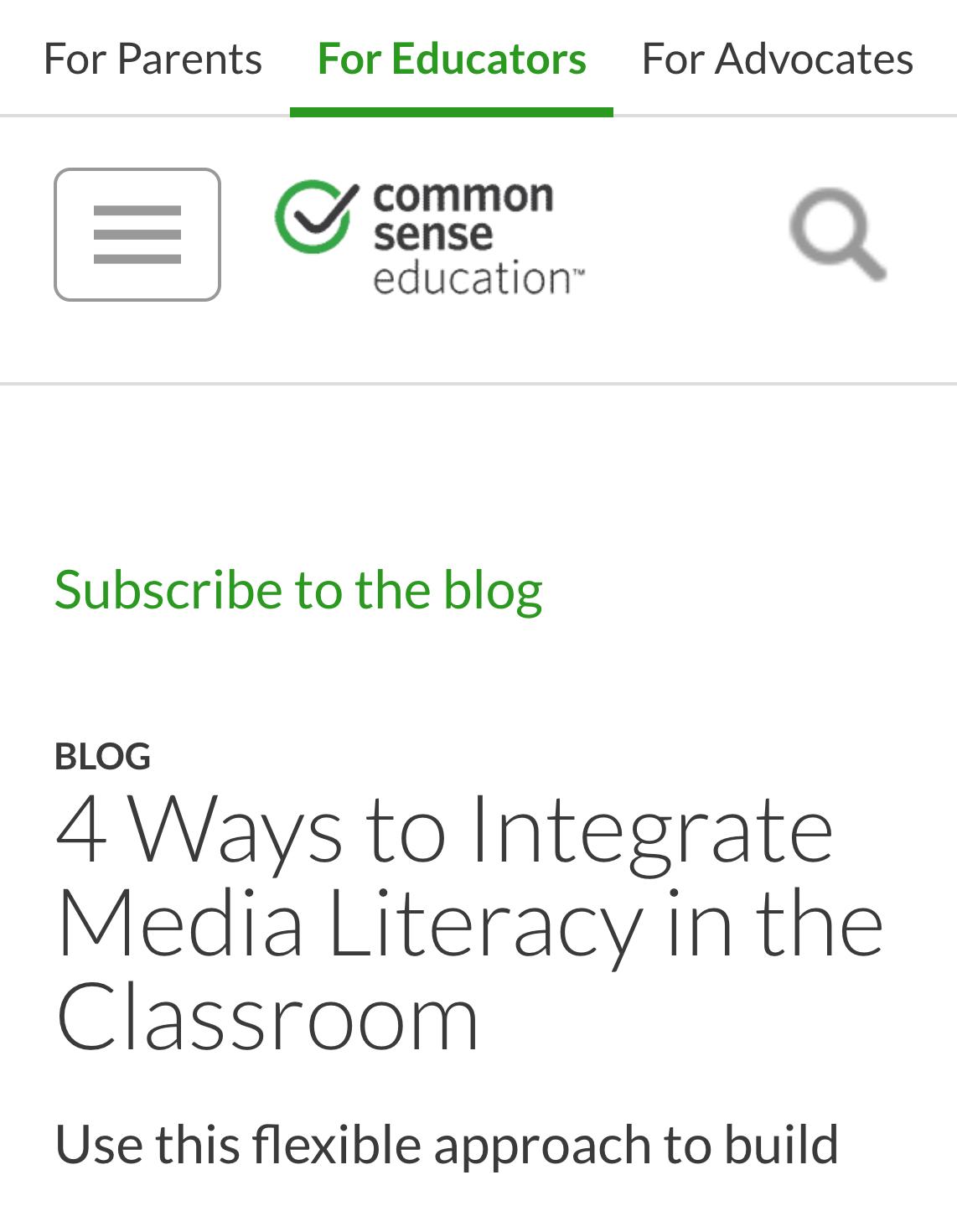 common sense blog