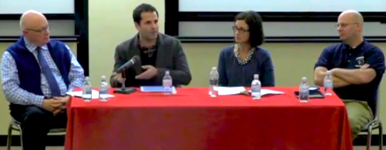 TMS on Documentary Panel Discussion at Montclair State University