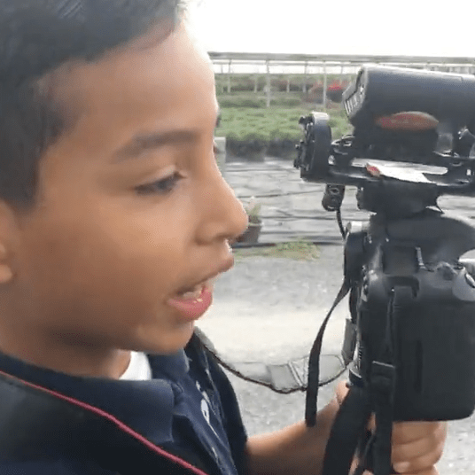 – 5th-grader, filming at PS 32 Bronx, NY