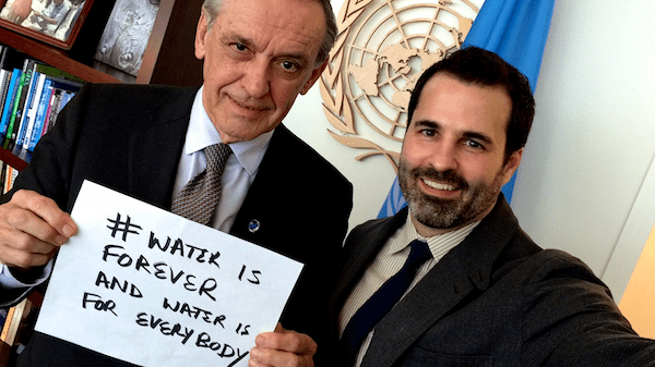 #WorldWaterDay Interview with the UN Deputy Secretary-General